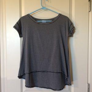 Striped lululemon ivivva t shirt